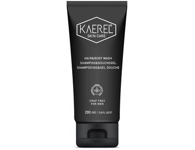 Kaerel Skin Care, shampoo & douchegel