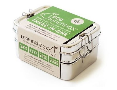 Eco lunchboxes, Lunchbox Three-In-one