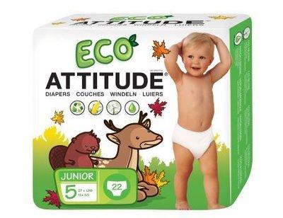 Attitude, Luiers Wegwerp Eco 5 (12+ kg)