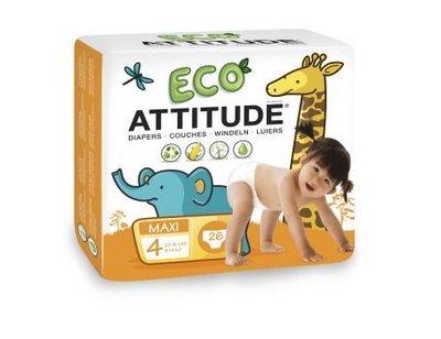 Attitude,  Luiers Wegwerp Eco 4 (9-14kg)