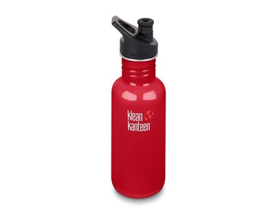 Klean Kanteen, Classic Sport, Mineral Red. 532 ml