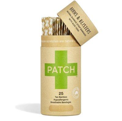 Patch, bamboe pleisters voor kleine brand wonden en blaren