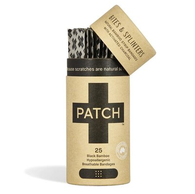 Patch, bamboe pleister met activated charcoal