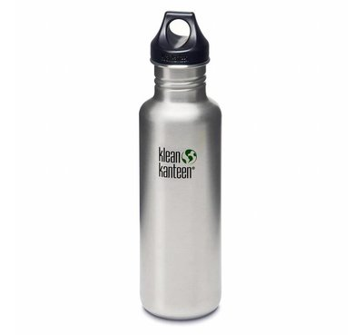 KleanKanteen Classic loop cap, Brushed Stainles, 800ml