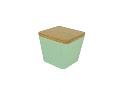 BAMBOO FLOWER CANDLE 2 IN 1 APPLE DELIGHT