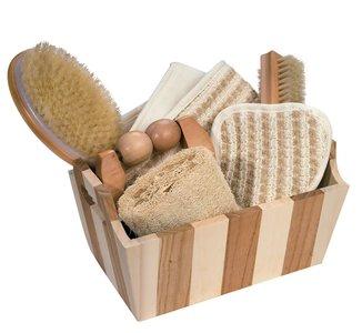 Croll en Denecke geschenkset Wellness in decoratief houten kistje