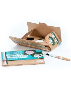 Namaki gecertificeerde biologische en hypo allergene maquillage kit (3 kleuren)