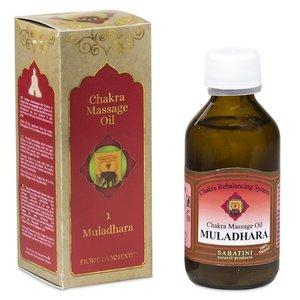 Fiore d'Oriente Chakra Massageolie 1e Chakra - Muladhara