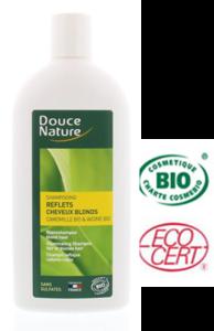 Douce Nature biologische  glans shampoo voor blond haar - 300 ml