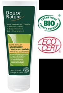 Douce Nature Biologische Balsem karite & jojoba droog/beschadigd haar- 200 ml