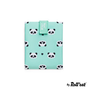 Roll'Eat Boc'n'Roll Foodwrap Herbruikbaar Boterhamzakje, Kids  Panda (zonder verapkking)