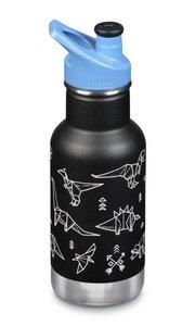 Klean Kanteen Drinkfles geïsoleerd sportcap -  355 ml (zonder verpakking)