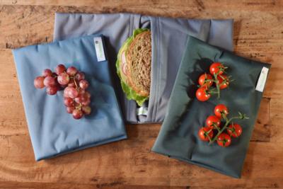 Re-Uasble dubbel lunchbag