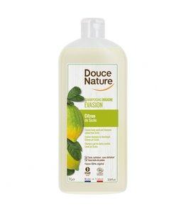 Douce Nature, Biologische Douchegel & shampoo evasion citroen Silicie - 1Liter
