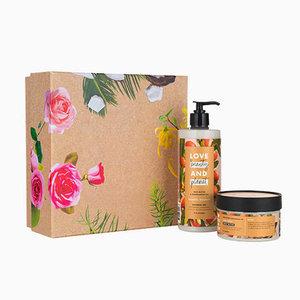 Love Beauty and Planet Shea Butter & Sandalwood luxe geschenkset