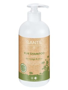 Sante family bio ginkgo olijf shampoo BDIH 500 ml vegan