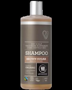 Urtekram Shampoo bruine suiker, normaal haar, 500 ml, vegan