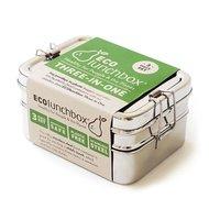 Eco lunchboxes, Lunchbox Three-In-one ( lunchbox is zonder verpakking+ zeer klein krasjes bovenkant)